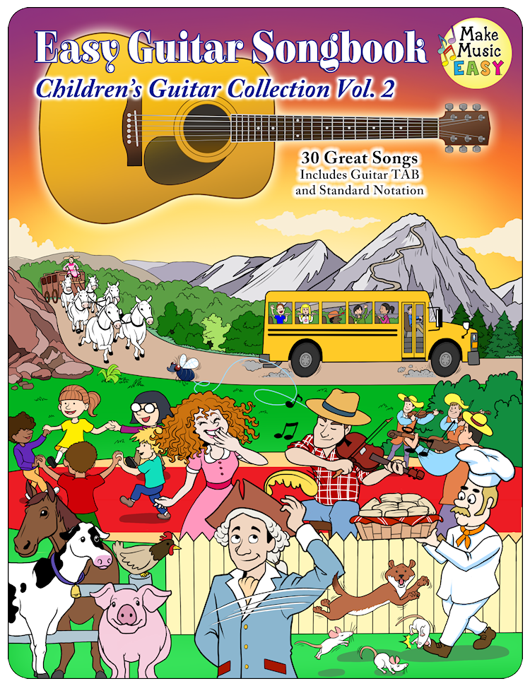 Childrens Guitar Favorites Vol2 Cover 750x971
