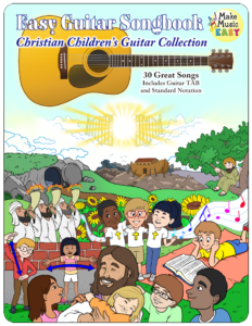 Christian Childrens Guitar Collection Cover 750x971