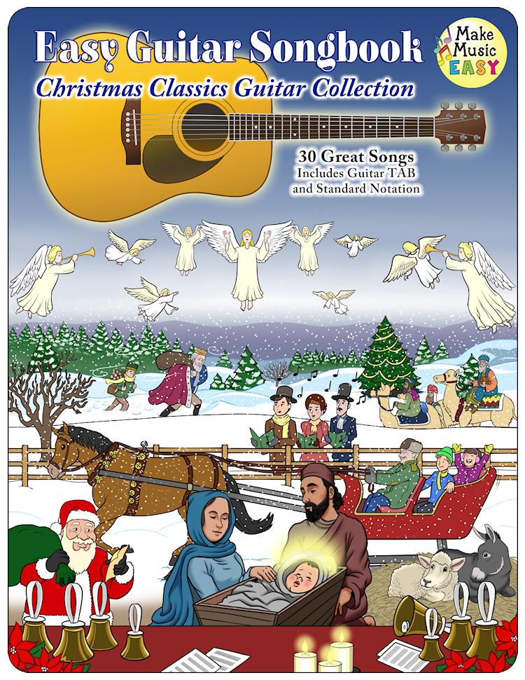 Christmas Classics Guitar Collection Cover 750x971