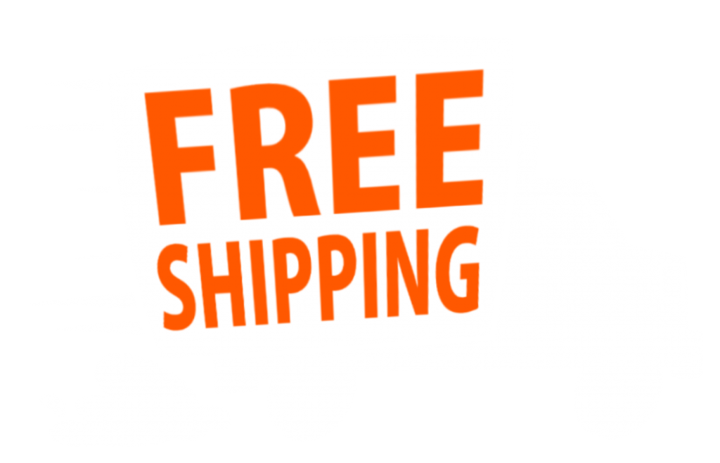 Truck Free Shipping Orangetext